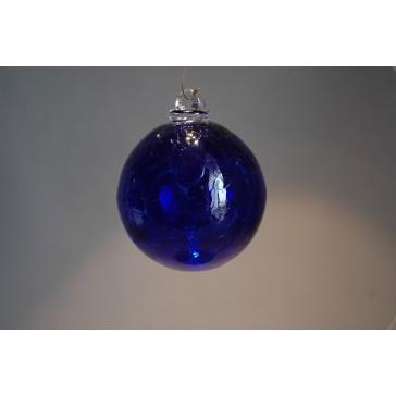 Závěsná koule z hutního skla 8 cm 2.