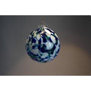 Závěsná koule z hutního skla 8 cm 3.