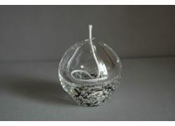 Skleněná olejová lampa 80mm V.