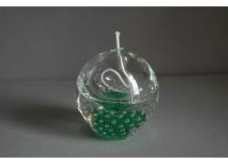 Skleněná olejová lampa 80mm X.