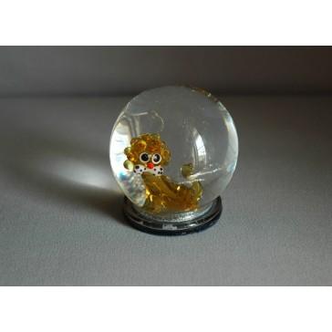 Sněhová koule 60mm Zodiak Lev