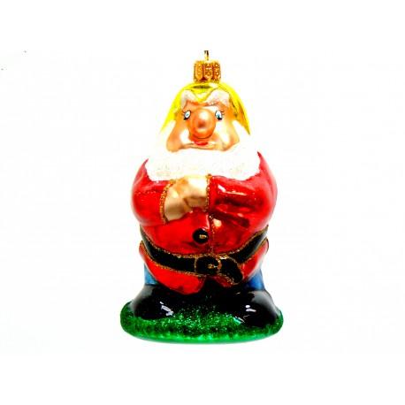 Vánoční ozdoba Trpaslík www.sklenenevyrobky.cz