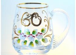 Beer mug birthday www.sklenenevyrobky.cz