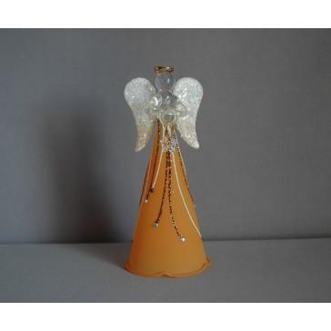 Skleněný anděl velký 15cm 24.