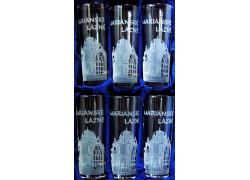 Dárkový set Mariánské Lázně se šesti skleničkami