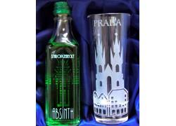 Absinth dárkový set Praha