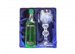 Absinth gift set cut glasses