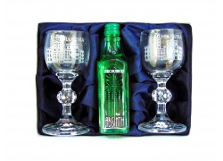 Absinth gift set Chateau Hluboká
