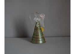 Glass angel 11cm 20. www.sklenenevyrobky.cz