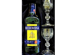 Becherovka Geschenkset Český Krumlov