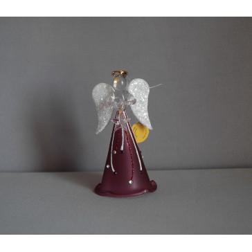 Skleněný anděl malý 9,5cm 26.