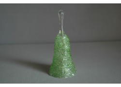 Sklenený zvonček, zelený