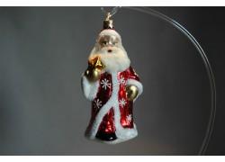 Vánoční ozdoba Santa F385 červený